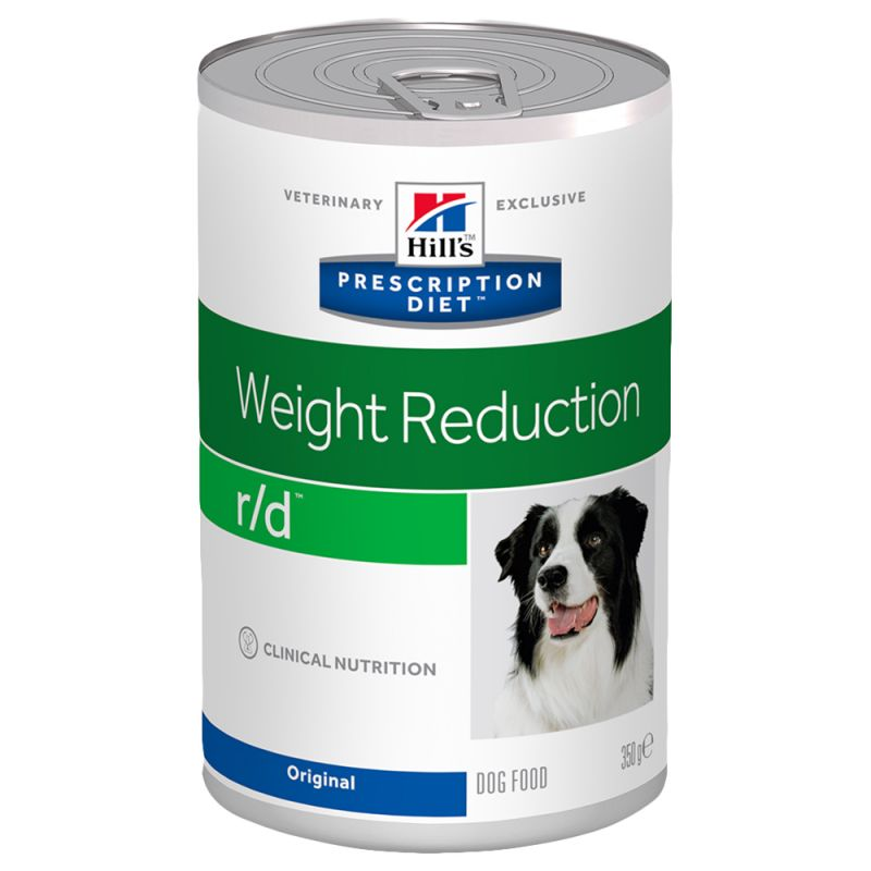 Hill's r/d Prescription Diet Weight Reduction latas para perros