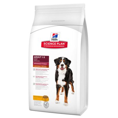 Hill's Science Plan Adult 1-5 Advanced Fitness Large Breed Kip