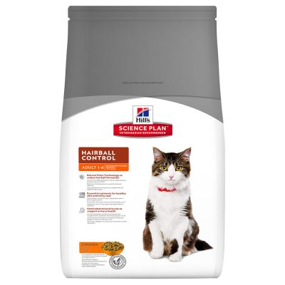 Hill's Science Plan Adult Hairball & Indoor poulet