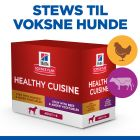 Hill's Science Plan Adult Healthy Cuisine Kylling & Okse portionsposer