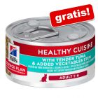 Hill's Science Plan Adult Healthy Cuisine Ragout, tuńczyk z warzywami, 79 g gratis!