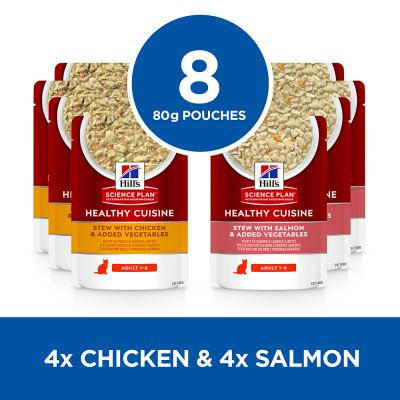 Hill's Science Plan Adult Healthy Cuisine with Chicken & Salmon