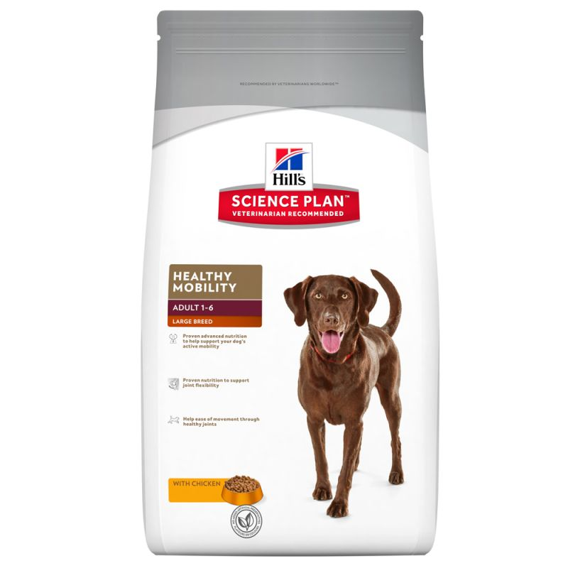 Hill's Science Plan Adult Healthy Mobility Large Breed with Chicken