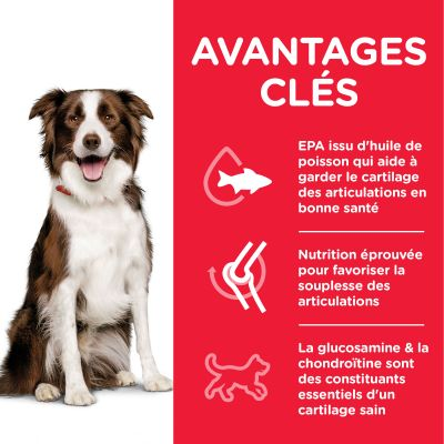 Hill's Science Plan Adult 1+ Healthy Mobility Medium poulet pour chien