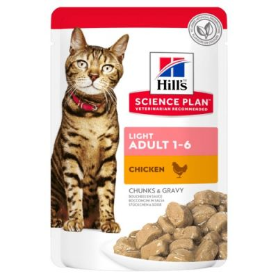 Hill's Science Plan Adult Light Pouches