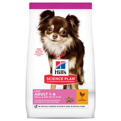 Hill's Science Plan Adult 1-6 Light Small & Mini mit Huhn
