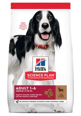 Hill's Science Plan Adult 1-6 Medium con Agnello e Riso