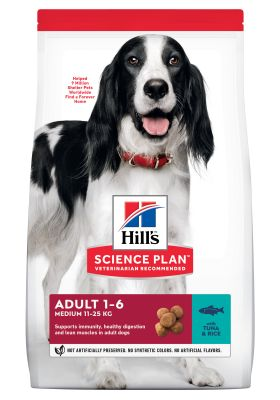 Hill's Science Plan Adult 1-6 Medium Tonno & Riso