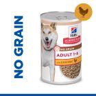Hill's Science Plan Adult No Grain con Pollo Alimento umido per cani