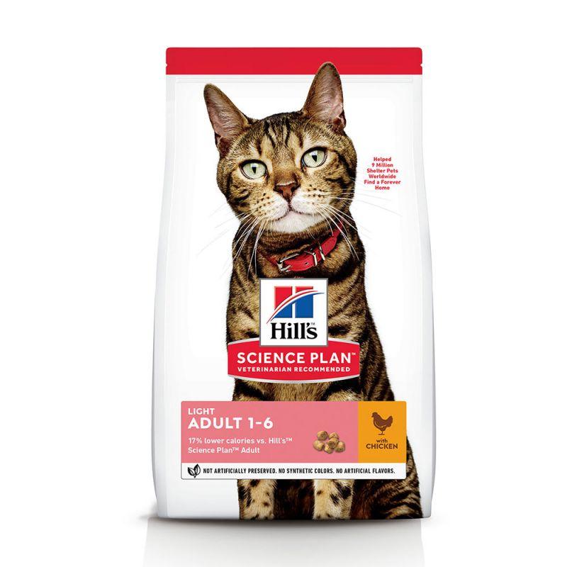 Hill's Science Plan Adult 1-6 Optimal Care Light Kattenvoer met Kip