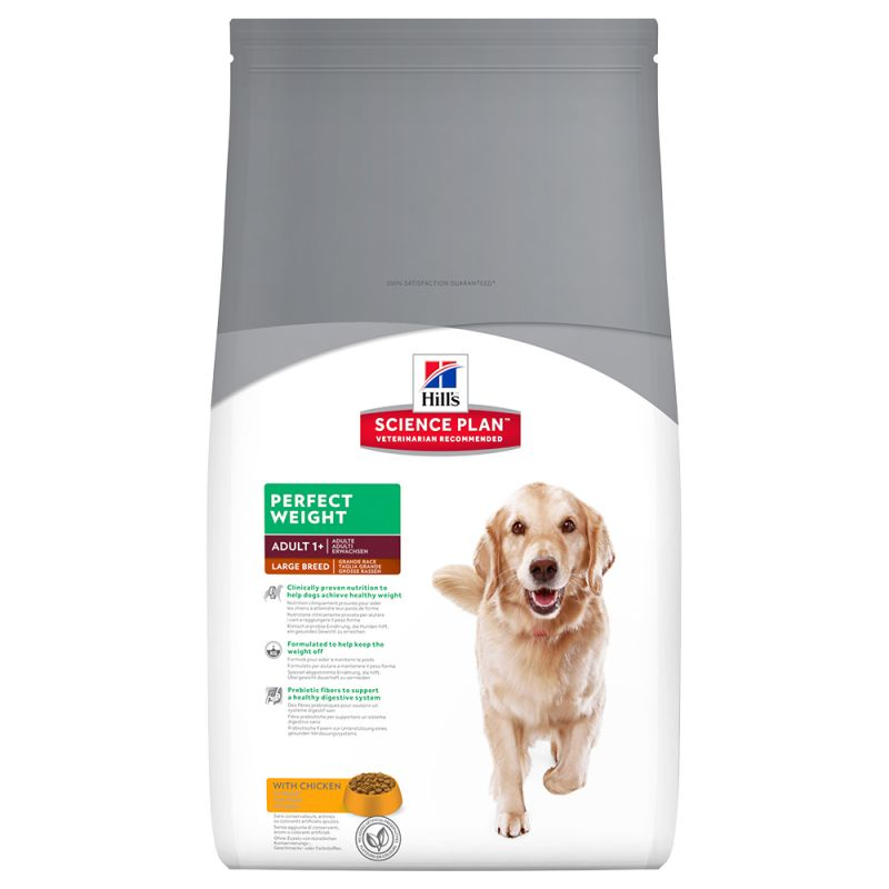 Hill's Science Plan Adult Perfect Weight Large Breed with Chicken