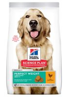 Hill's Science Plan Adult 1+ Perfect Weight Large Kylling hundefoder