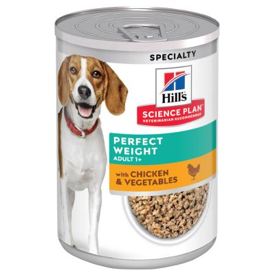 Hill's Science Plan Adult 1+ Perfect Weight latas para cães