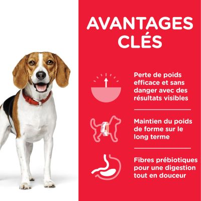 Hill's Science Plan Adult 1+ Perfect Weight Medium poulet pour chien