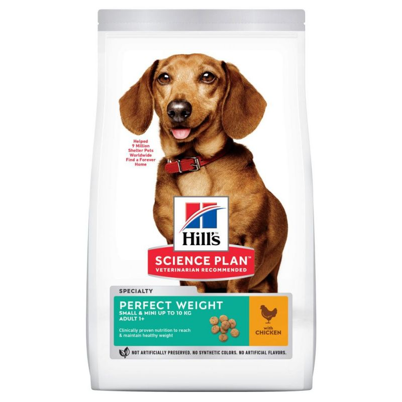 Hill's Science Plan Adult 1+ Perfect Weight Small & Mini with Chicken