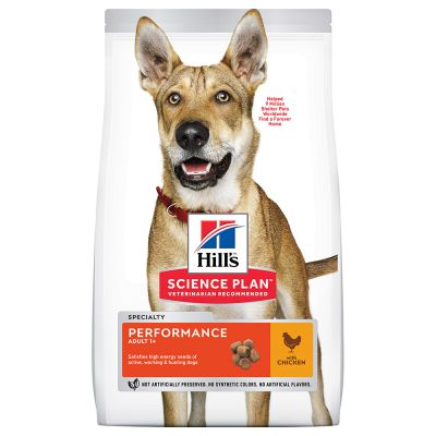 Hill's Science Plan Adult 1-6 Performance Medium with Chicken