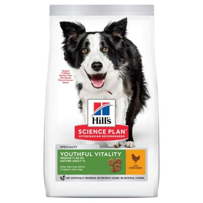 Hill's Science Plan Adult 7+ Senior Vitality Medium with Chicken