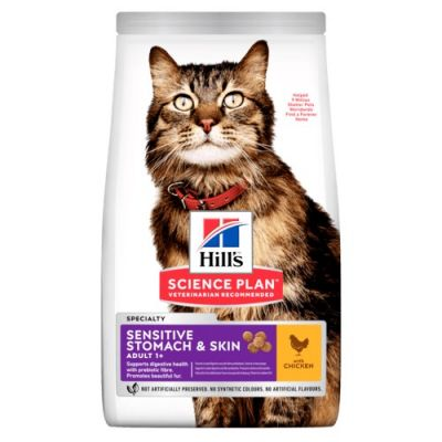 Hill's Science Plan Adult Sensitive Stomach & Skin Chicken