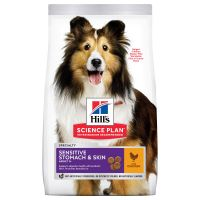 Hill's Science Plan Adult 1+ Sensitive Stomach & Skin Medium poulet