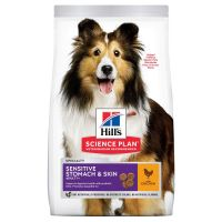 Hill's Science Plan Adult 1+ Sensitive Stomach & Skin Medium with Chicken