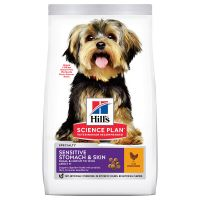 Hill's Science Plan Adult 1+ Sensitive Stomach & Skin Small & Mini Pollo