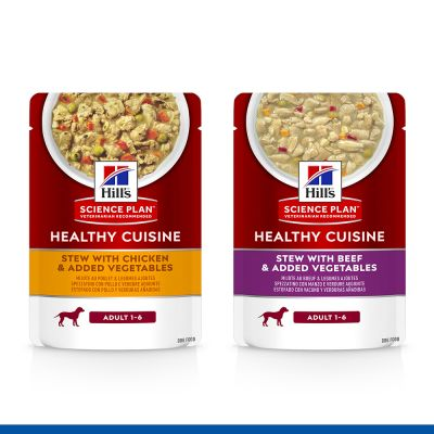 Hill's Science Plan Canine Adult Healthy Cuisine met Kip en Rund