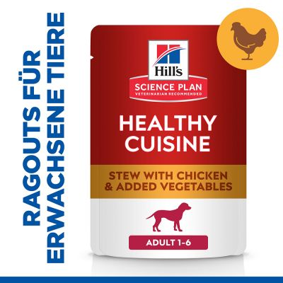 Hill's Science Plan Canine Adult Healthy Cuisine mit Huhn