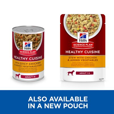 Hill's Science Plan Canine Adult Healthy Cuisine with Chicken
