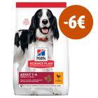 Hill's Science Plan 14 kg pienso para perros ¡con 6€ de descuento!