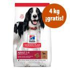 Hill's Science Plan 18 kg pienso para perros en oferta: 14 + 4 kg ¡gratis!