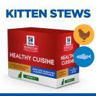 Hill's Science Plan Kitten Healthy Cuisine, Κοτόπουλο & Θαλασσινό Ψάρι