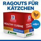 Hill's Science Plan Kitten Healthy Cuisine met Kip & Oceaanvis