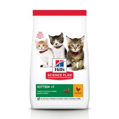 Hill's Science Plan Kitten Healthy Development poulet