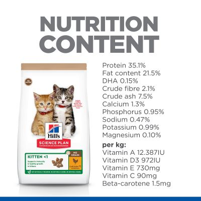 Hill's Science Plan Kitten <1 No Grain Chicken