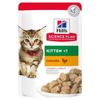 Hill's Science Plan Kitten Pouches