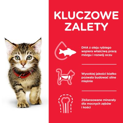 Hill's Science Plan Kitten, tuńczyk