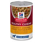 Hill's Science Plan Mature Adult 7+ Healthy Cuisine Stews csirke & zöldség