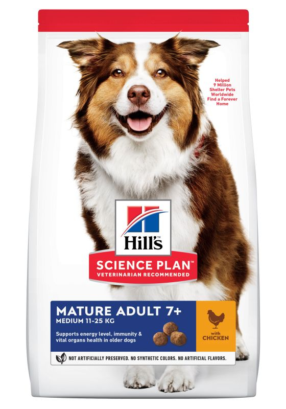 Hill's Science Plan Mature Adult 7+ Medium Chicken