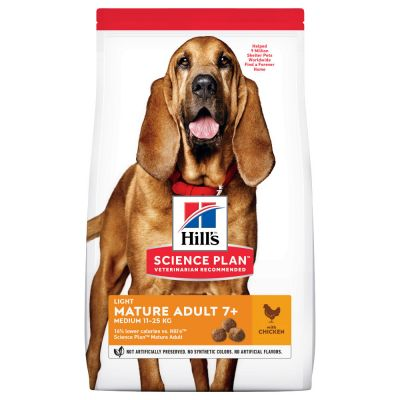 Hill's Science Plan Mature Adult 7+ Medium Light Chicken