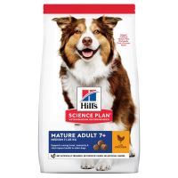 Hill's Science Plan Mature Adult 7+ Medium with Chicken