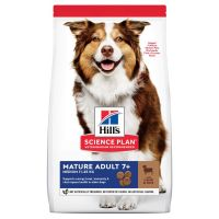 Hill's Science Plan Mature Adult 7+ Medium with Lamb & Rice