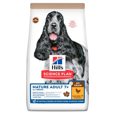Hill's Science Plan Mature Adult 7+ No Grain, kurczak