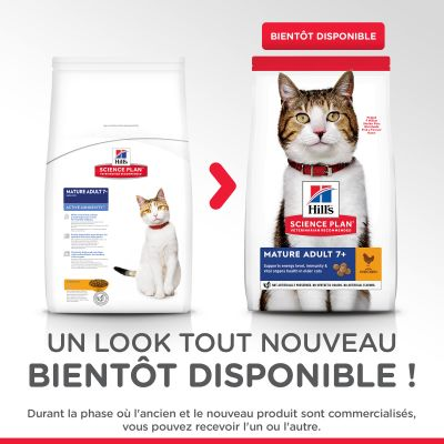Hill's Science Plan Mature Adult poulet pour chat
