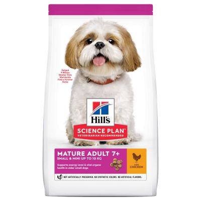 Hill's Science Plan Mature Adult 7+ Small & Mini met Kip