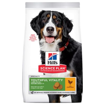 Hill's Science Plan Mature Adult 7+ Youthful Vitality Large poulet pour chien