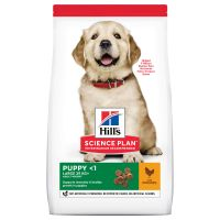Hill's Science Plan Puppy <1 Large Breed met Kip