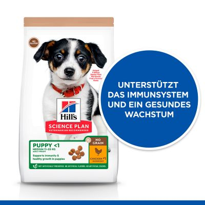 Hill's Science Plan Puppy <1 No Grain mit Huhn