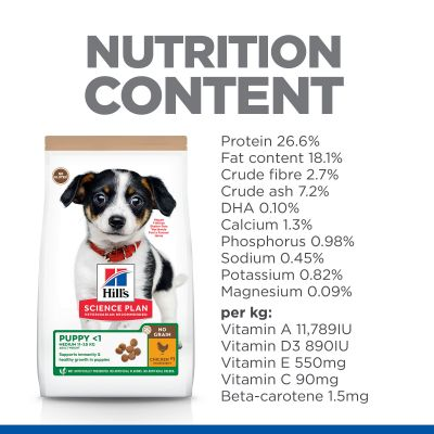 Hill's Science Plan Puppy <1 No Grain with Chicken