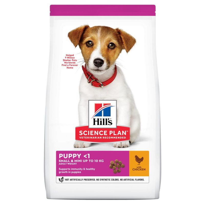 Hill S Science Plan Puppy 1 Small Mini With Chicken Zooplus
