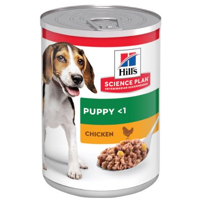 Hill's Science Plan Puppy <1, z kurczakiem, 6 x 370 g
